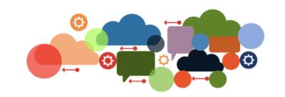 Illustration, différents canaux de communication